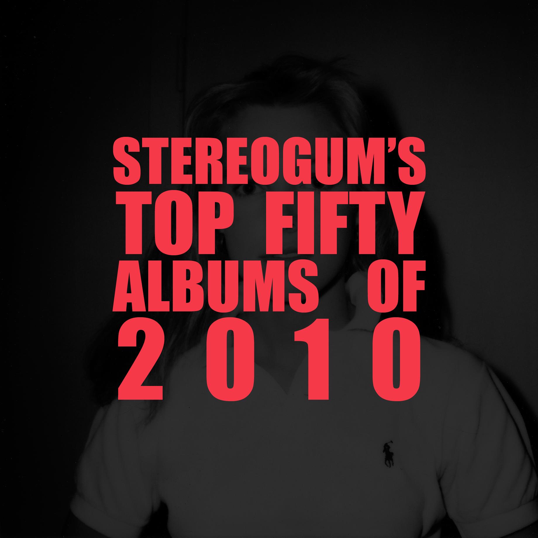 Stereogum's Top 50 Albums Of 2010 - Header