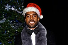 Kanye West Is Santa Claus