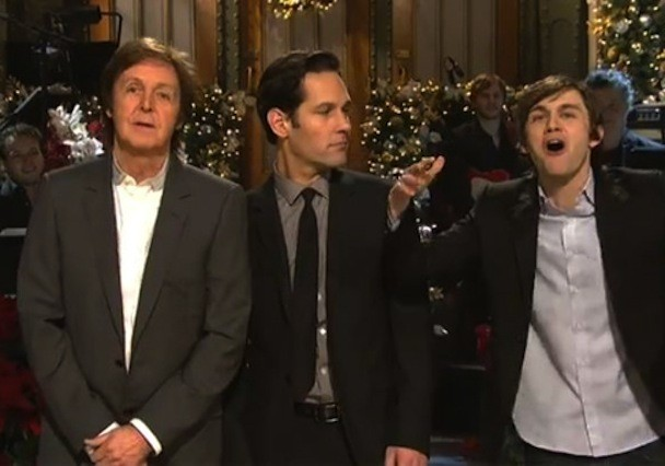 Paul McCartney Saturday Night Live