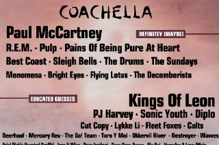 Coachella 2011: Let The Rumors Begin
