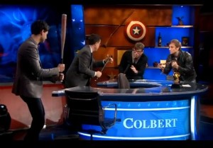 """Vampire Weekend And The Black Keys' """"Sell-Out-Off"""" On Colbert"""
