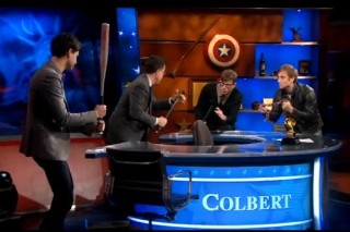 "Vampire Weekend & The Black Keys Hit Colbert For A ""Sell-Out-Off"""