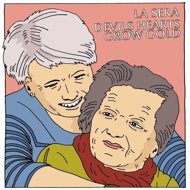 La Sera Devils Hearts Grow Gold Cover
