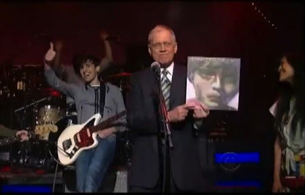 The Pains Of Being Pure At Heart On Letterman 2011