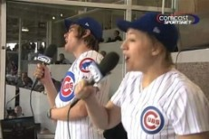 "Arcade Fire Sing ""Take Me Out To The Ballgame"""