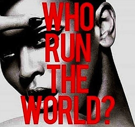 "Beyoncé & Major Lazer - ""Girls (Who Run The World)"""