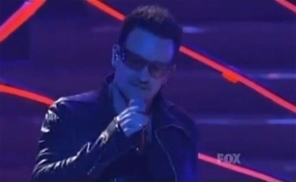Bono And The Edge American Idol