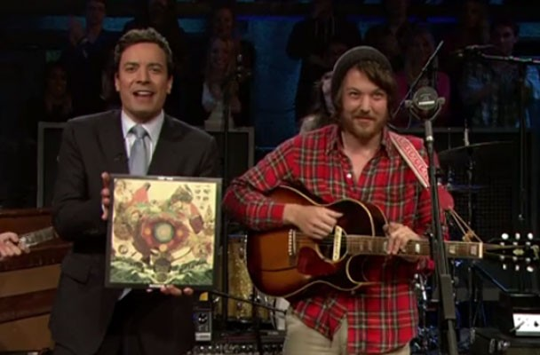 Fleet Foxes on Fallon