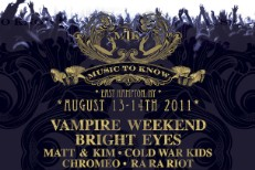 Vampire Weekend, Bright Eyes To Headline Inaugural MTK Festival