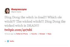 Wayne Coyne OBL Tweet