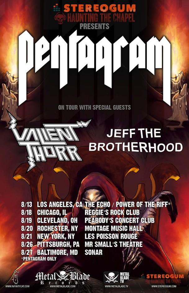 Pentagram 2011 Tour Poster