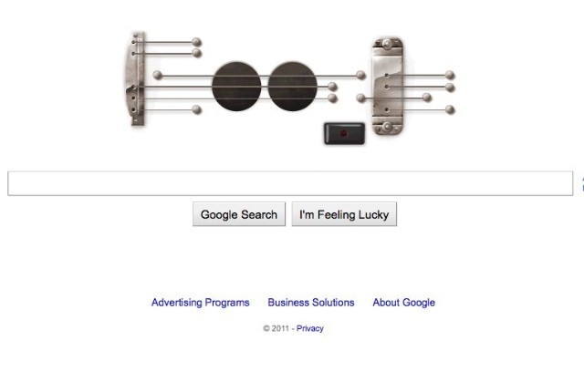 Google's Tribute To Les Paul