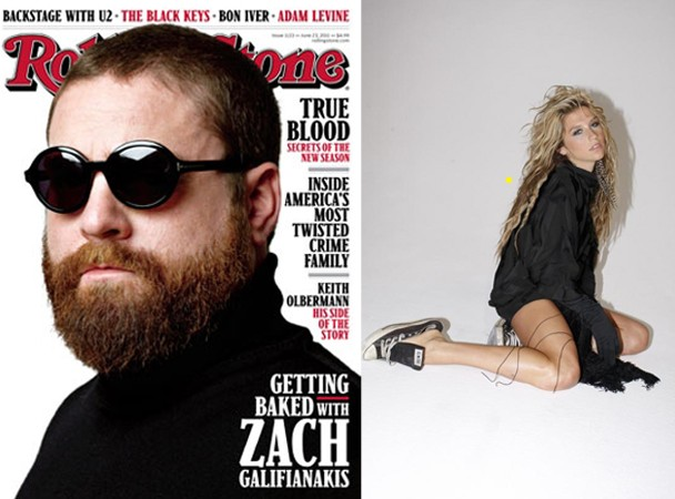 Ke$ha Zach Galifianakis