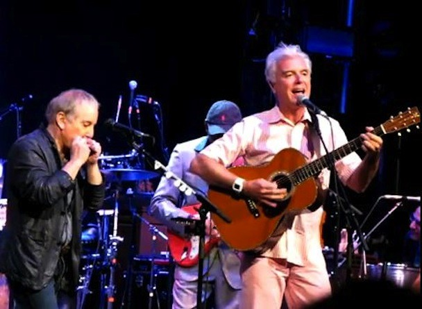 Paul Simon & David Byrne @ Webster Hall