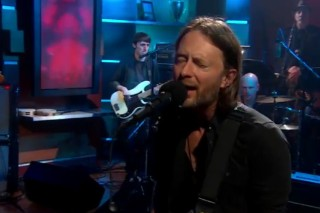 Watch Radiohead On <em>The Colbert Report</em>