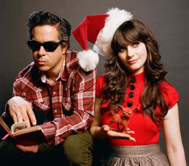 She & Him 2011 Press Pic [Autumn De Wilde]