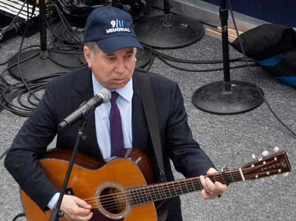 Paul Simon Plays Ground Zero 9/11/11
