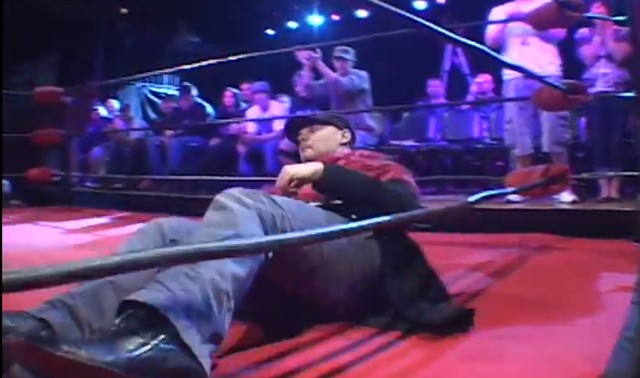 Billy Corgan wrestling
