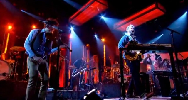 Bon Iver on Jools Holland