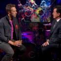 Watch Coldplay On <em>Colbert</em>, <em>Today</em>