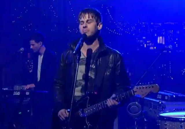 Foster The People on Letterman