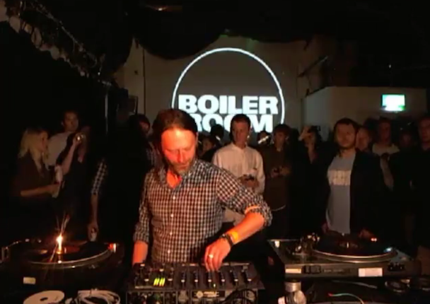Watch Thom Yorke's DJ Set At The Boiler Room, Download The Podcast