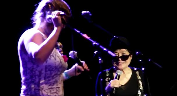 Watch tUnE-yArDs Join Yoko Ono Onstage