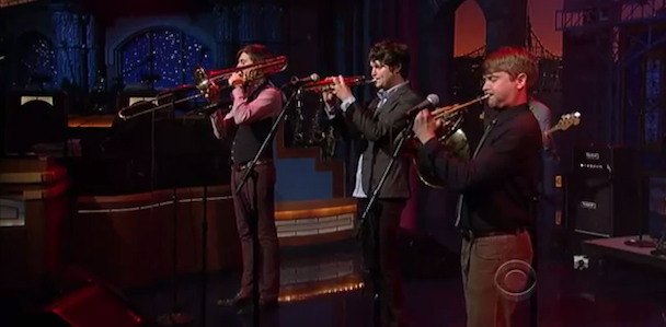 Beirut Play 'Letterman'