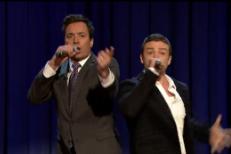 """Watch Justin Timberlake & Jimmy Fallon's """"History Of Rap"""" Part 3"""