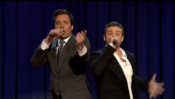 Watch Justin Timberlake & Jimmy Fallon's