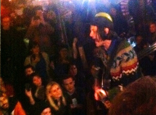 Jeff Mangum Plays Occupy Wall Street