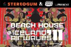 Stereogum & Bella Union Present: Beach House @ Iceland Airwaves 2011