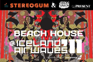 Stereogum & Bella Union Present: Beach House @ Iceland Airwaves '11