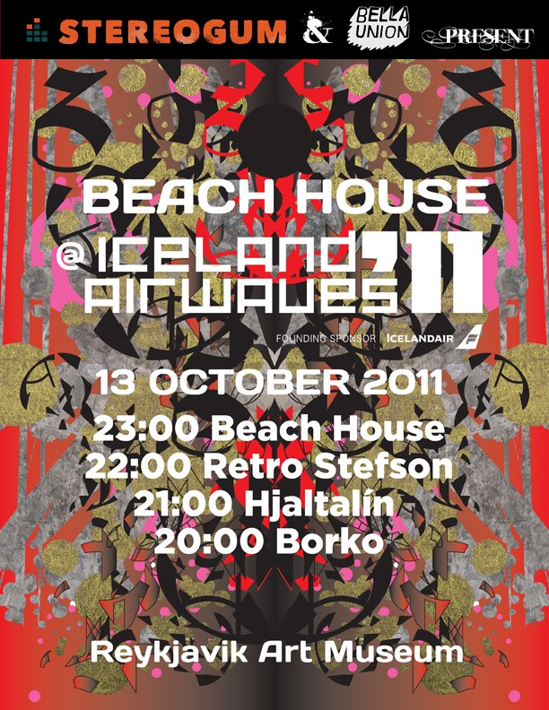 Stereogum & Bella Union Present: Beach House @ Iceland Airwaves 2011