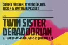 Stereogum + Domino + Ribbon + Todd P @ CMJ 2011