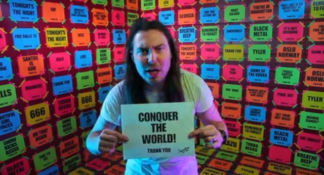 "Andrew WK - ""Go Go Go"" Video"