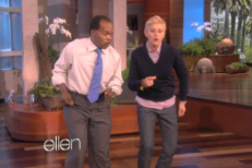 <em>Ellen</em> Interviews Black Keys Video Dancer