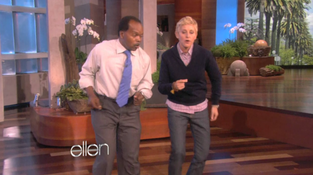 Black Keys dancer on Ellen