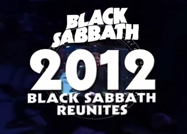 Black Sabbath Reunion
