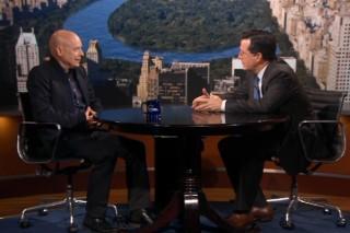 Watch Brian Eno On <em>The Colbert Report</em>