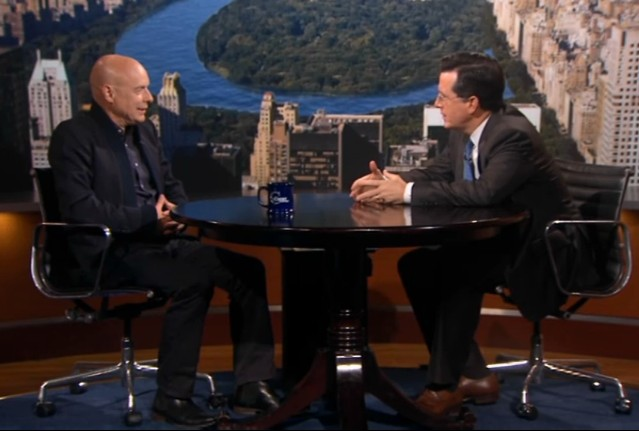 Brian Eno on The Colbert Report