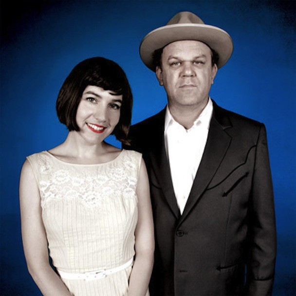 John C. Reilly and Becky Stark