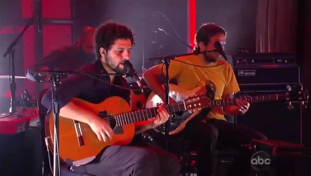 Junip on Kimmel