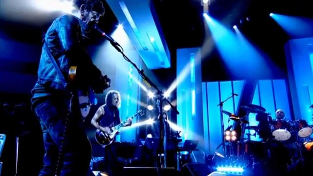 Lou Reed and Metallica on Jools Holland