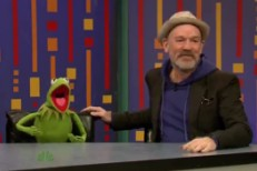 Michael Stipe Plays Password With Muppets On <em>Fallon</em>