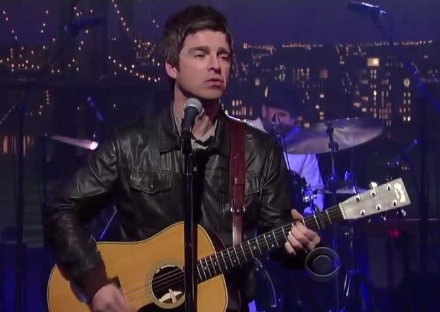 Noel Gallagher on Letterman