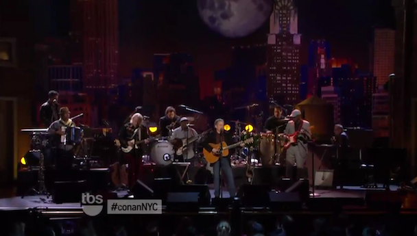 Paul Simon Does <em>Conan</em>