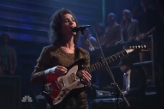 St. Vincent Covers The Pop Group On 'Fallon'