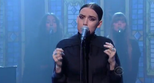 Lykke Li Plays 'Letterman'