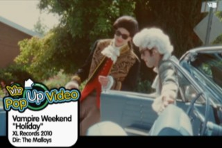 Watch New Pop-Up Videos For Vampire Weekend, White Stripes